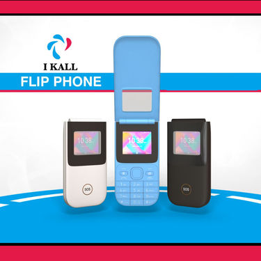 I Kall Flip Mobile Phone (K38)