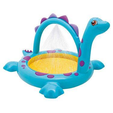 Intex Dino Spray Pool Kids Toddler Inflatable Swimming Kiddie Wading N Splash