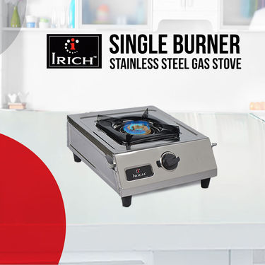 Irich Single Burner Stainless Steel Gas Stove