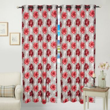 JBG Home Store Set of 2 Beautiful Design Door Curtains-JBG917_1MSFD