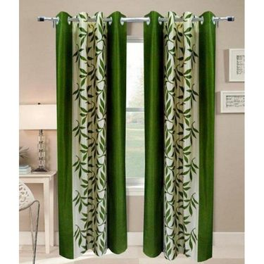 JBG Home Store Set of 2 Beautiful Design Door Curtains-JBG924_1GKD