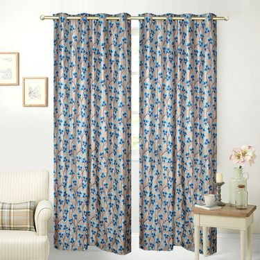 JBG Home Store Set of 2 Beautiful Design Door Curtains-JBG927_1AAD