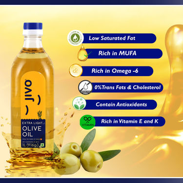 Jivo Olive Oil (1Ltr) - Pack of 2