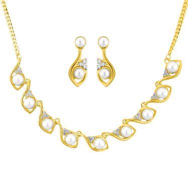 Jpearls Roxanna Pearl Necklace Set - NE10794