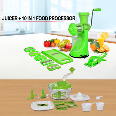 Juicer + 10 in 1 Food Processor