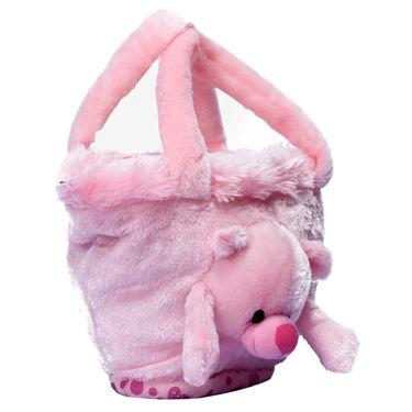 Kids Pink Stuff Bag - Hosiery Chenille 1006