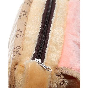 Kids Brown Stuff Bag - Hosiery Chenille 1009