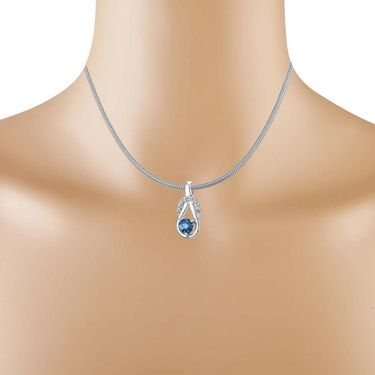 Kiara Swarovski Signity Sterling Silver Neesha Pendant_Kip0597
