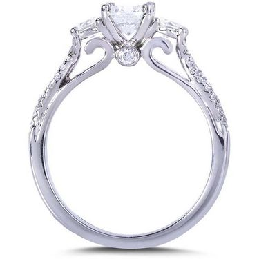 Kiara Swarovski Signity Sterling Silver Poonam Ring_Kir0664 - Silver