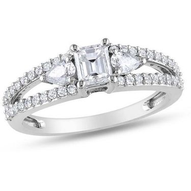 Kiara Swarovski Signity Sterling Silver Kanika Ring_Kir0669 - Silver