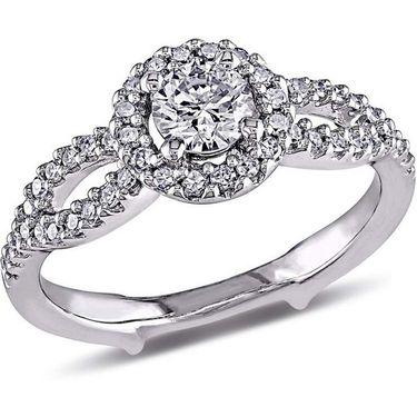Kiara Swarovski Signity Sterling Silver Anushka Ring_Kir0675 - Silver
