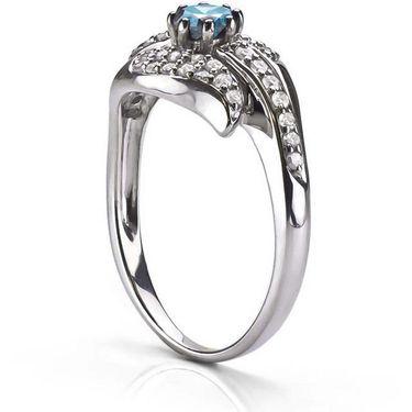 Kiara Swarovski Signity Sterling Silver Kareena Ring_Kir0677 - Silver