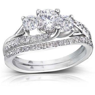 Kiara Swarovski Signity Sterling Silver Sonal Ring_Kir0702 - Silver