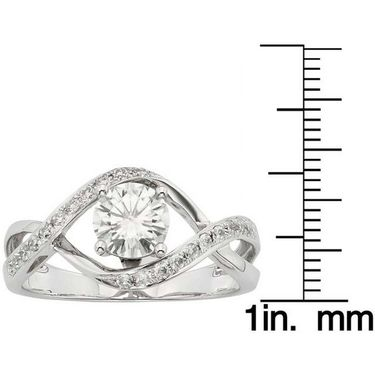 Kiara Swarovski Signity Sterling Silver Suchita Ring_Kir0715 - Silver