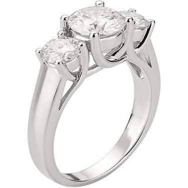 Kiara Swarovski Signity Sterling Silver Sameera Ring_Kir0716 - Silver