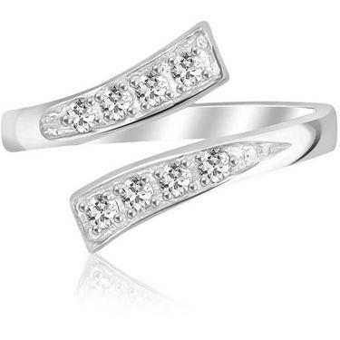 Kiara Swarovski Signity Sterling Silver Ash Ring_Kir0758 - Silver