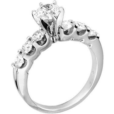 Kiara Swarovski Signity Sterling Silver Deepika Ring_Kir0759 - Silver