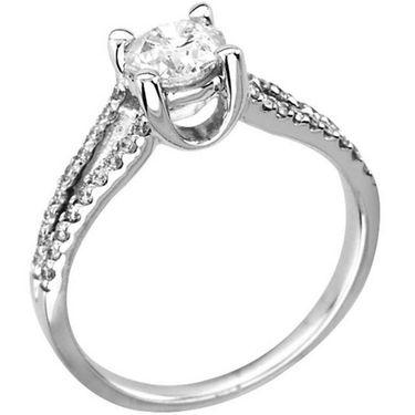 Kiara Swarovski Signity Sterling Silver Radhika Ring_Kir0760 - Silver