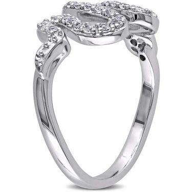 Kiara Swarovski Signity Sterling Silver Pranjal Ring_Kir0783 - Silver