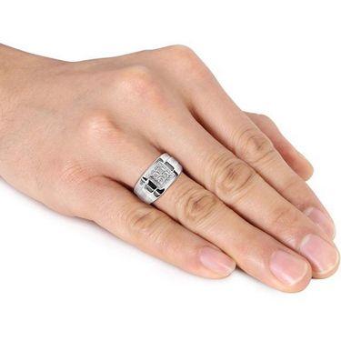 Kiara Swarovski Signity Sterling Silver Bengal Ring_Kir0791 - Silver