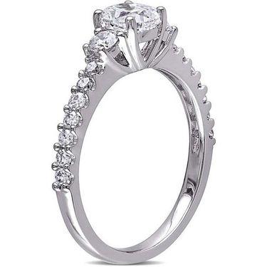 Kiara Swarovski Signity Sterling Silver Apeksha Ring_Kir0796 - Silver