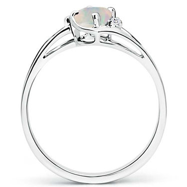 Kiara Swarovski Signity Sterling Silver Jammu Ring_kir1152 - Silver