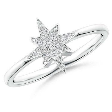 Kiara Swarovski Signity Sterling Silver Naina Ring_kir1307 - Silver