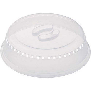 New Microwave Dish Covers - Big - White