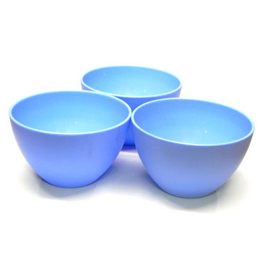 Set of 3 Microwave Heat and Serve Bowls