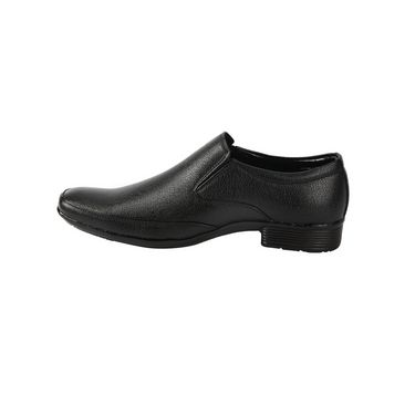 Bacca bucci Faux Leather  Formal Shoes KP-32 - Black