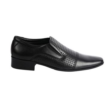 Bacca bucci Genuine Leather  Formal Shoes KP-37 - Black
