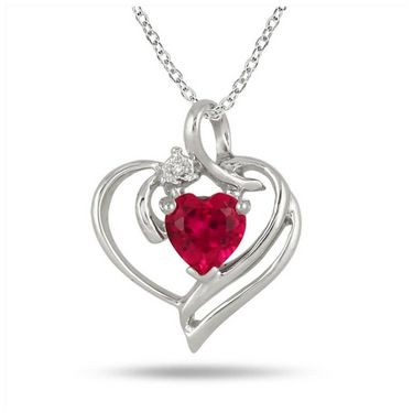 Kiara Sterling Silver Pendant made with Swarovski Zirconia - 203