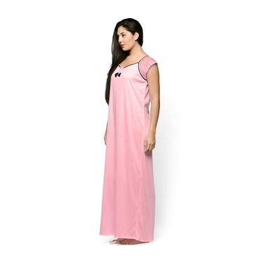Klamotten Cotton Plain Nightwear - Pink - YY108