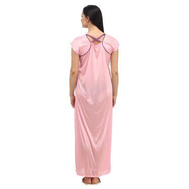 Klamotten Satin Plain Nightwear - Pink - YY12
