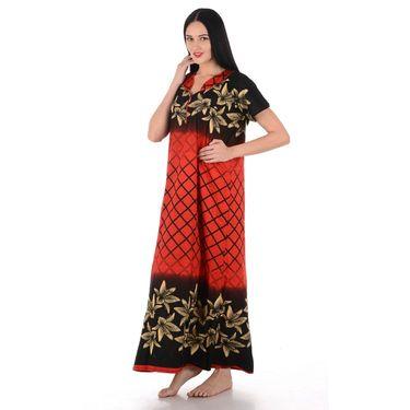 Klamotten Cotton Block Print Nightwear - Multicolor - YY206