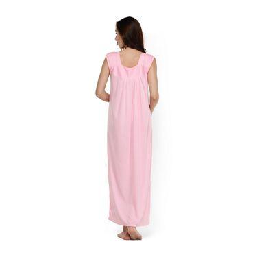 Klamotten Cotton Plain Nightwear - Pink - YY85