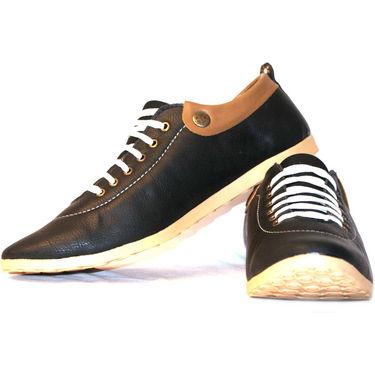 Designer Casual Shoes for Men - Brown-2121