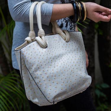 Arisha Women Handbag White -Lb230