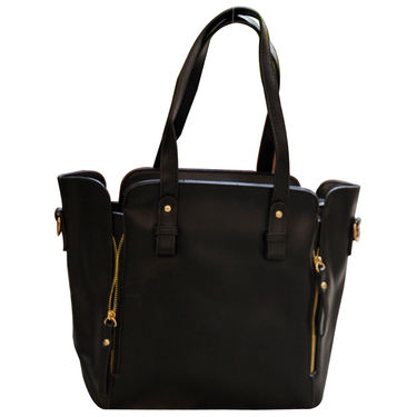 Sai Arisha PU Black Handbag -LB355