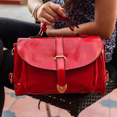 Arisha Red Handbag -LB 403