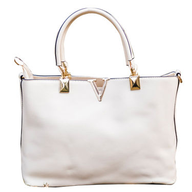 Sai Arisha PU White Handbag -LB503