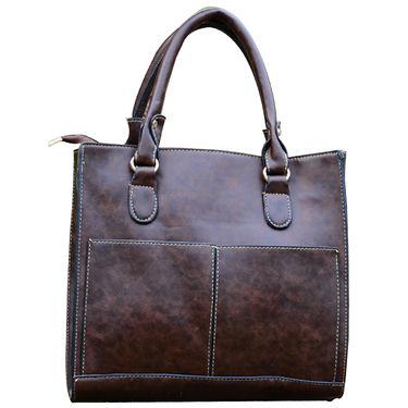Sai Arisha PU Dark Brown Handbag -LB678