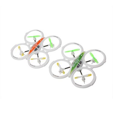 4Ch 2.4GHz RC UFO Aircraft Drone Toy with 6-Axis Gyro, Remote, Flashing Lights