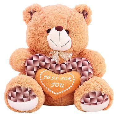 Valentine stuff Woody Teddy Bear 40 cm - Brown