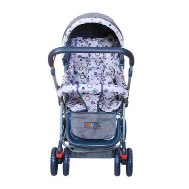Pram Baby Day Out - Grey