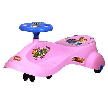 Kids Best Swing Car Pink