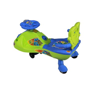 Kids Fun Swing Car with Back and Music