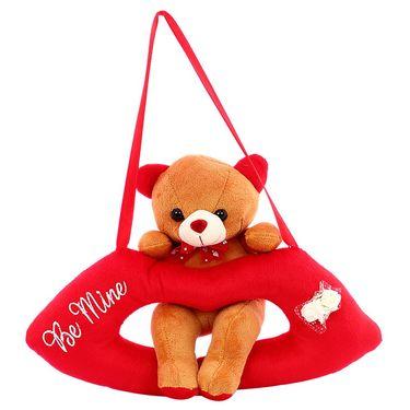 Lip Cute Bear Valentine Stuff Teddy Brown