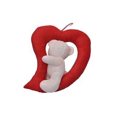 LovingHeart Bear Valentine Stuff Teddy - Cream