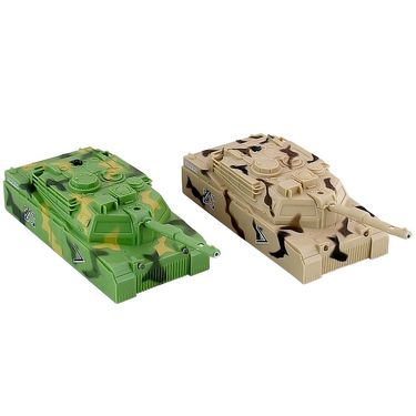 Wall Climbing Tank With Remote Control - Green